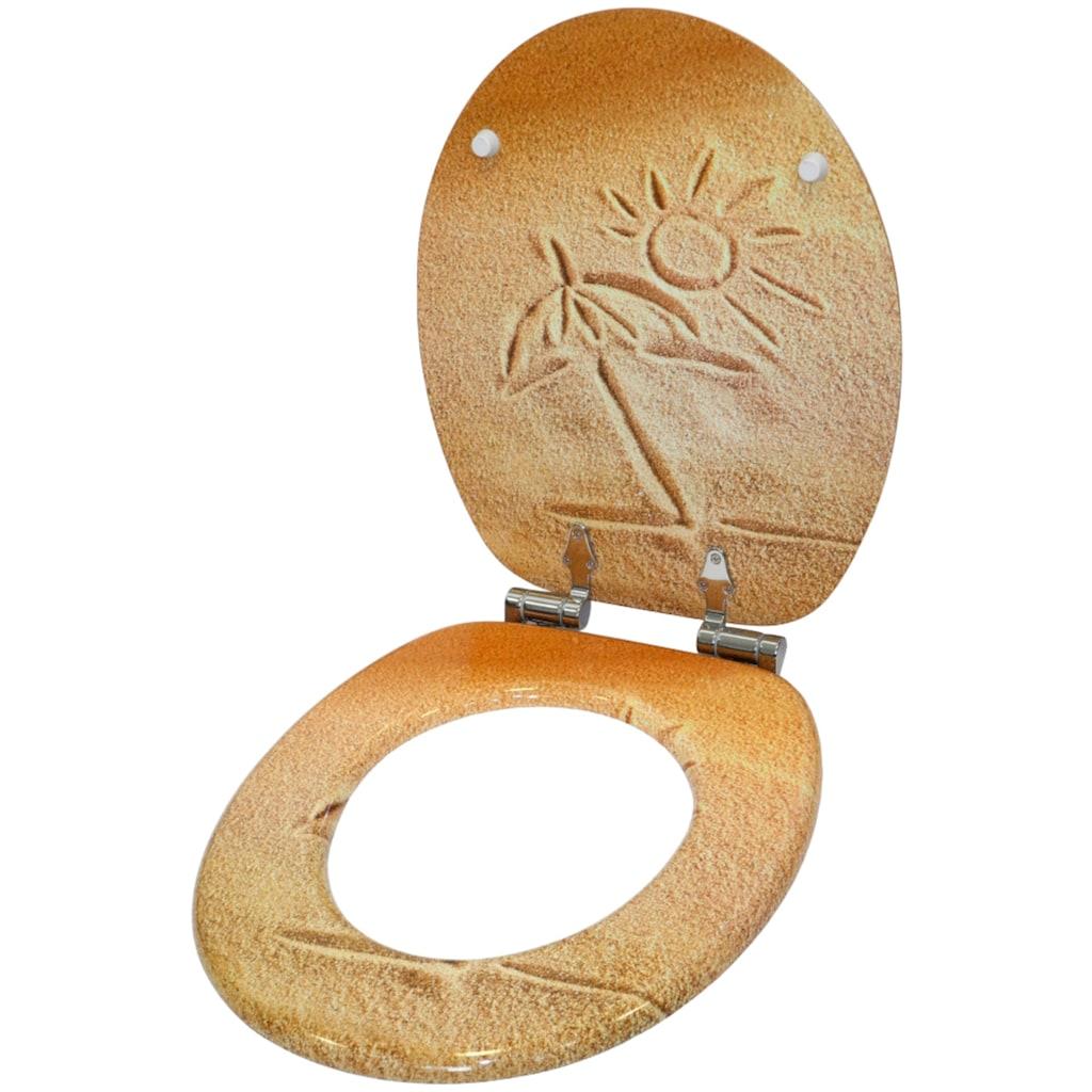 Sanilo WC-Sitz »Sunshine«, mit Absenkautomatik