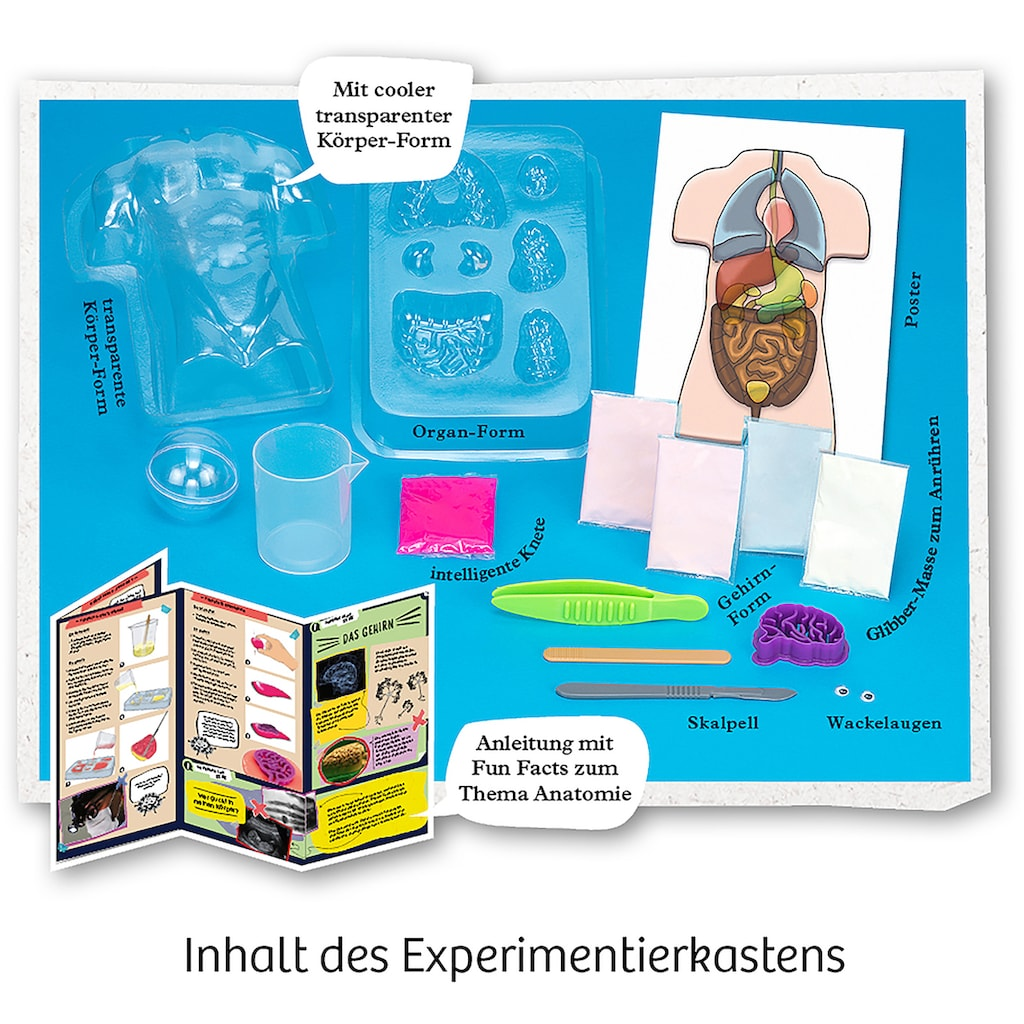 Kosmos Experimentierkasten »Fun Science Glibber-Organe«