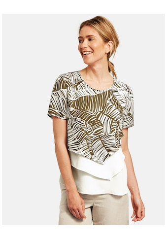 GERRY WEBER Bluse 1/2 Arm »Bluse im Layering Look« kaufen
