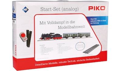PIKO Modelleisenbahn Startpaket »Dampflok mit Personenzug, (57112)« kaufen