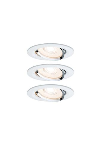 Paulmann LED Einbaustrahler »dimmbar IP23 Weiß 6,8W Reflector Coin schwenkbar... kaufen
