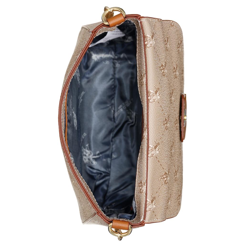 U.S. Polo Assn Mini Bag »Hampton«, mti goldfarbenen Details und trendigem Kettenhenkel