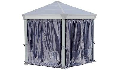 PALRAM Seitenteile für Pavillon »für Pavillon ROMA HEXAGONAL«, grau, 6 Stk. kaufen