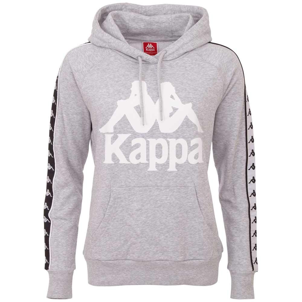 Kappa Kapuzensweatshirt AUTHENTIC E and A | Bekleidung > Sweatshirts & -jacken | Grau | Jeans | Kappa
