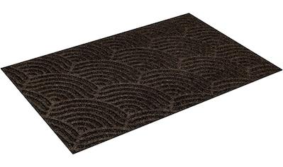wash+dry by Kleen-Tex Fußmatte »Waves«, rechteckig, 8 mm Höhe, Fussabstreifer,... kaufen