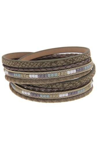 leslii Armband in angesagtem Wickel - Look kaufen