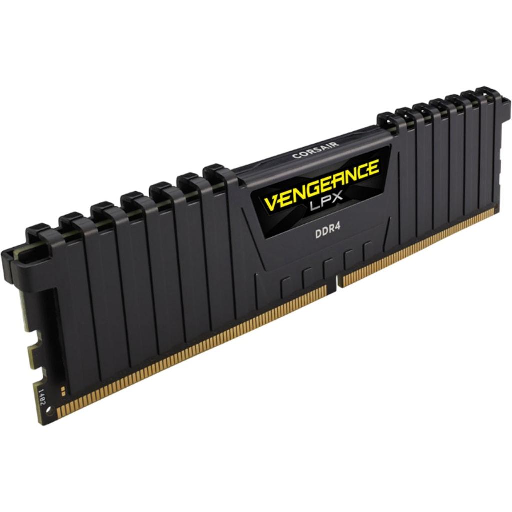 Corsair PC-Arbeitsspeicher »VENGEANCE® LPX Speicherkit 16 GB (2 x 8 GB) DDR4 DRAM 3600MHz C18«