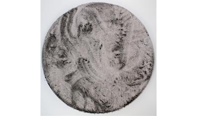Dekowe Hochflor-Teppich »Robin«, rund, 30 mm Höhe, Kunstfell, Kuschelteppich, Wohnzimmer kaufen