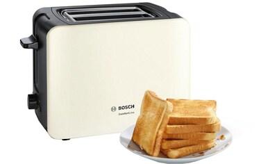 BOSCH Toaster »ComfortLine TAT6A117«, für 2 Scheiben, 1090 Watt kaufen