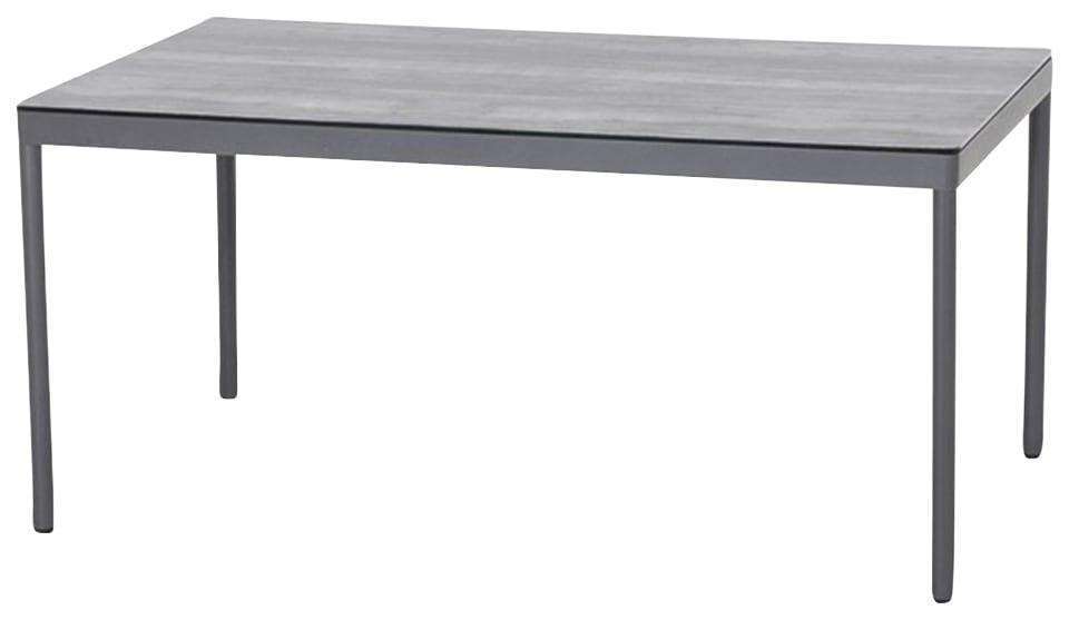 SIENA GARDEN Gartentisch Carim Aluminium 140x80 cm