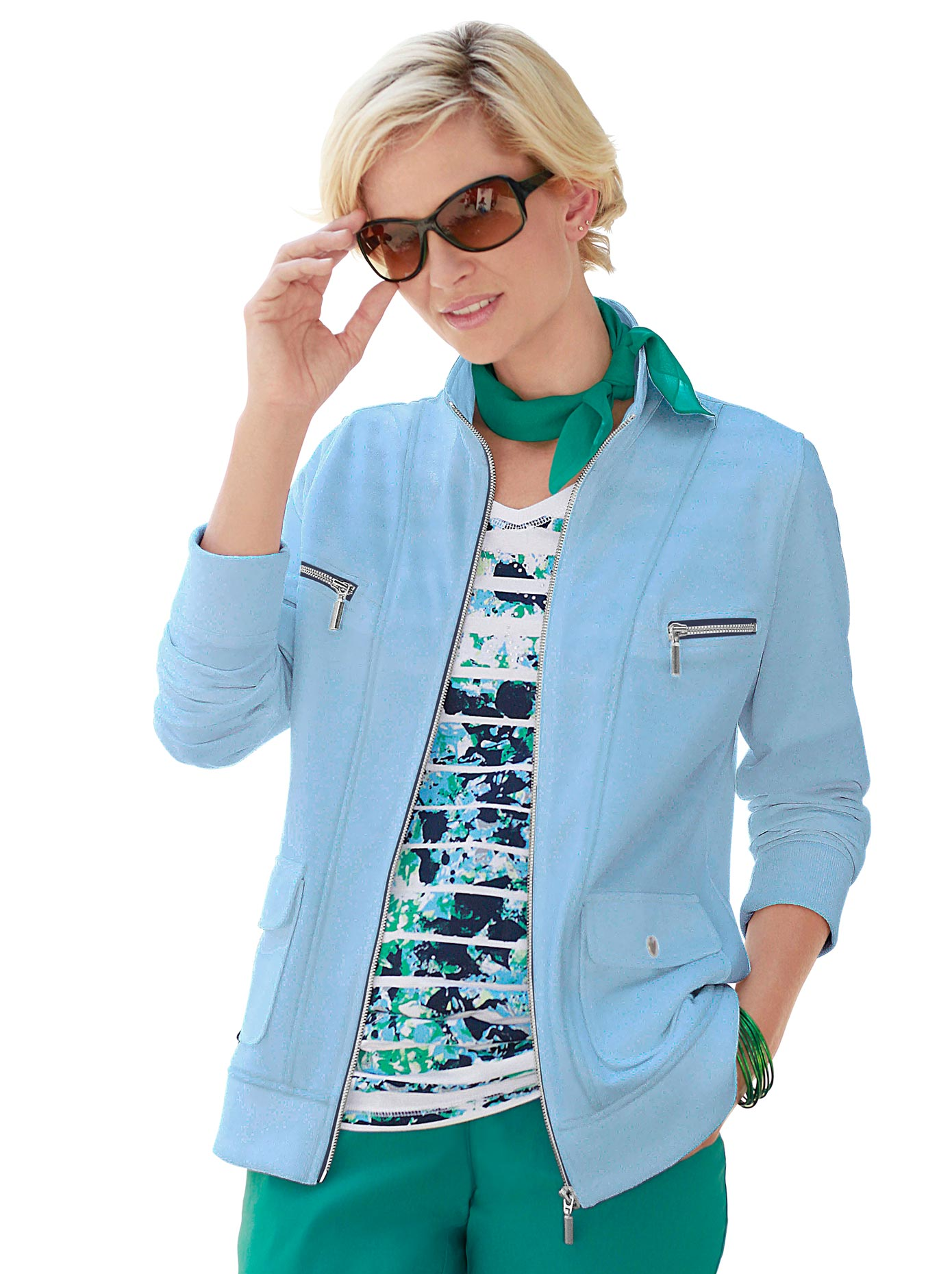 Casual Looks Lässige Shirtjacke | Bekleidung > Shirts > Shirtjacken | Casual Looks