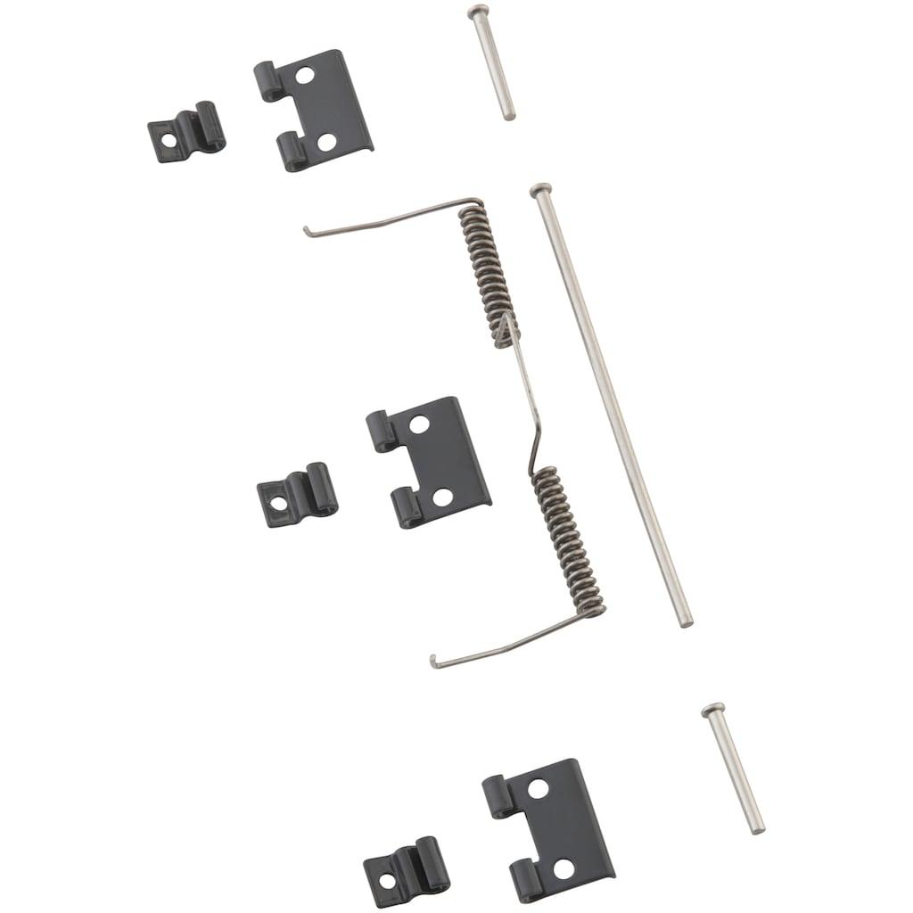 hecht international Insektenschutz-Tür »MASTER SLIM+«, anthrazit, Türzarge, BxH: 120x240 cm