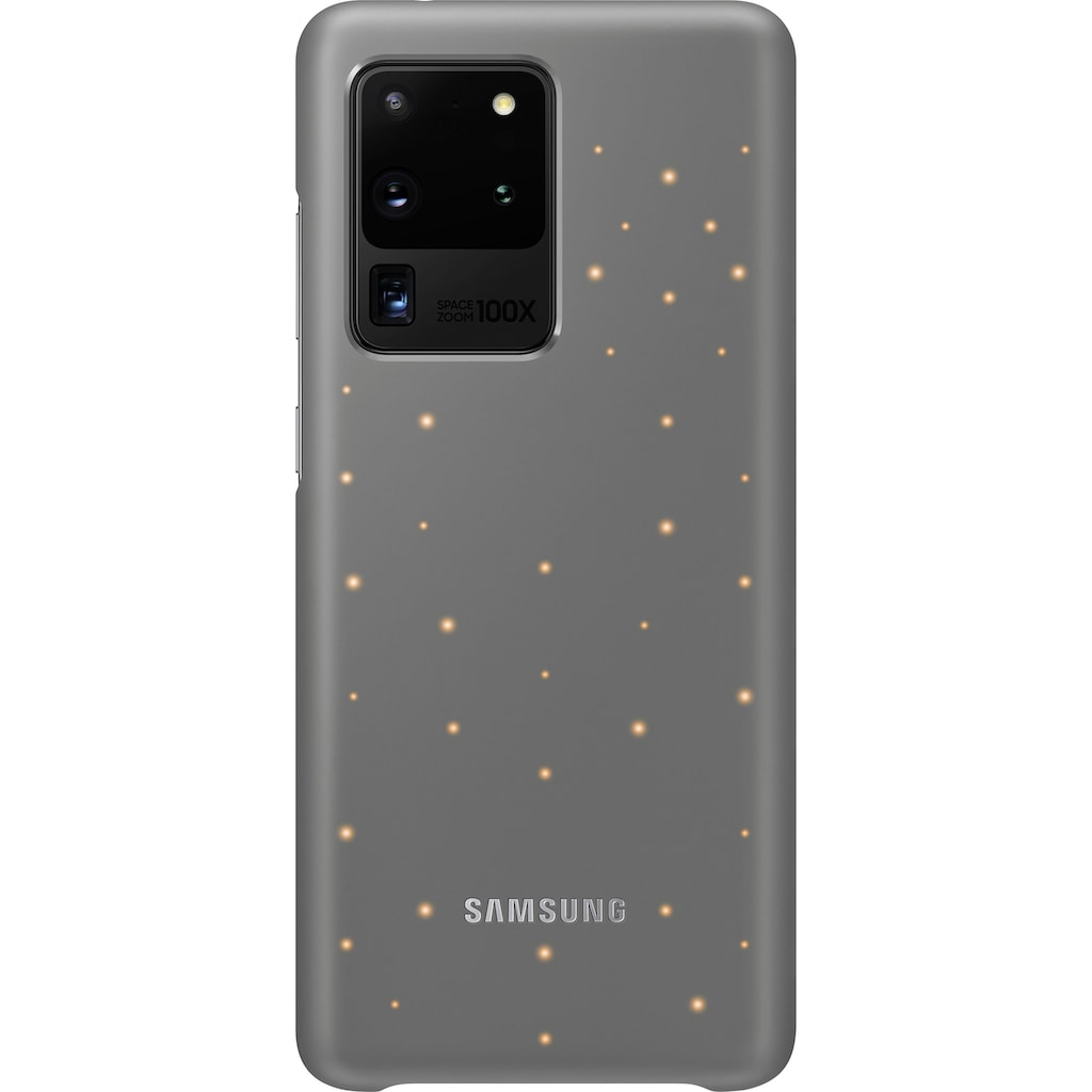 Samsung Smartphone-Hülle »LED Cover EF-KG988«, Galaxy S20 Ultra 5G