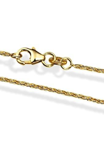 goldmaid Zopfkette 585/ -  Gelbgold 45 cm kaufen
