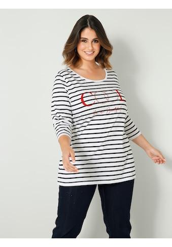 Sara Lindholm by Happy Size Rundhalsshirt kaufen
