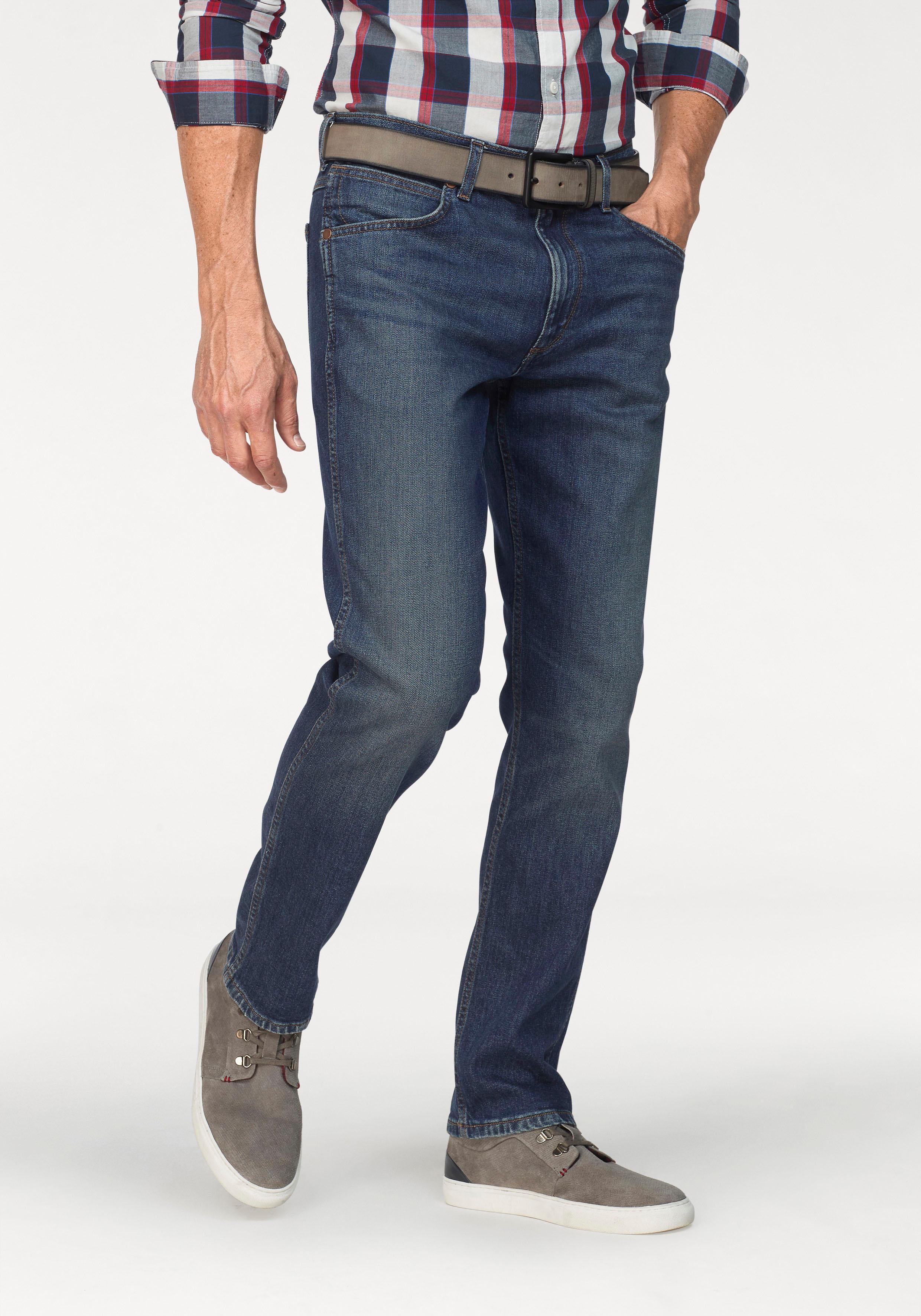 Wrangler Stretch-Jeans Greensboro | Bekleidung > Jeans > Stretch Jeans | Blau | Jeans | Wrangler