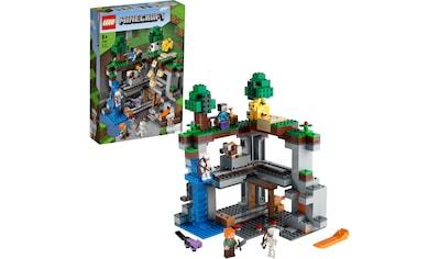 LEGO® Konstruktionsspielsteine »Das erste Abenteuer (21169), LEGO® Minecraft™«, (542 St.), Made in Europe kaufen