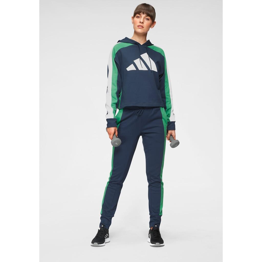 adidas Performance Trainingsanzug »W TS BIG LOGO«, (Set, 2 tlg.)