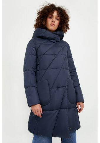 Finn Flare Steppmantel »-«, mit aufgesetzten Taschen kaufen