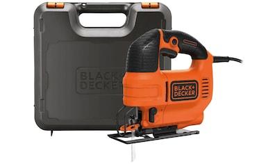 BLACK + DECKER Pendelhubstichsäge »KS701PEK« kaufen