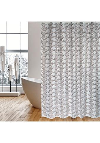 MSV Duschvorhang »Bento«, Breite 180 cm, Höhe 200 cm kaufen