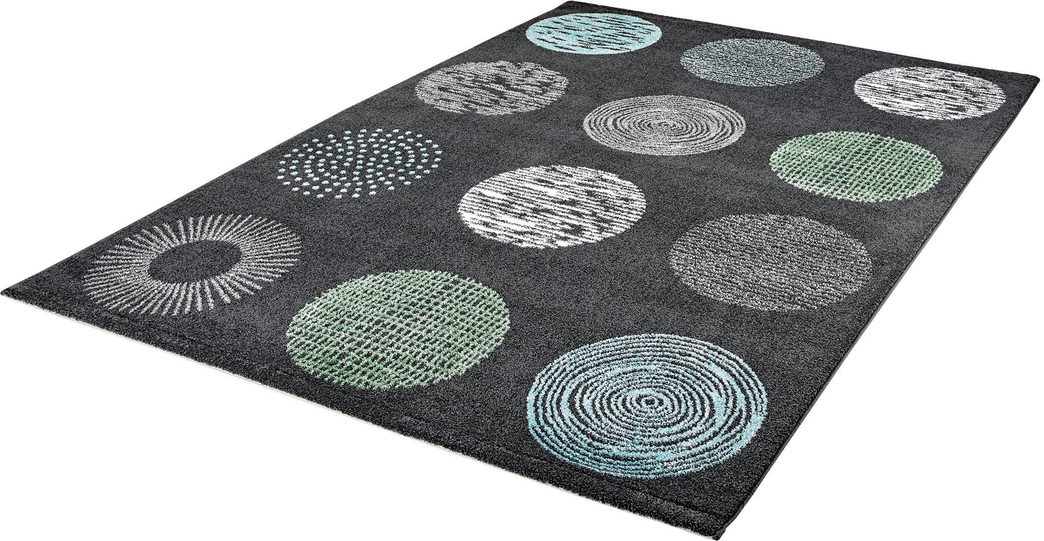 Teppich My Bronx 541 Obsession rechteckig Höhe 18 mm maschinell gewebt