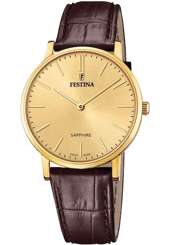 Festina Schweizer Uhr »Festina Swiss Made, F20016/2« kaufen