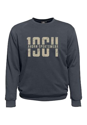 AHORN SPORTSWEAR Sweatshirt mit großem Frontprint kaufen