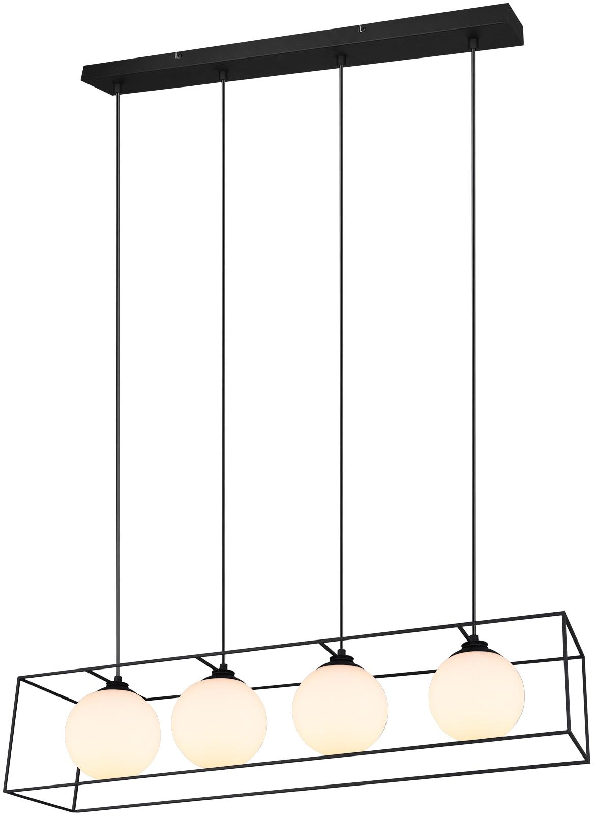 TRIO Leuchten Pendelleuchte Gabbia, E14, 1 St., Hängeleuchte, Hängelampe