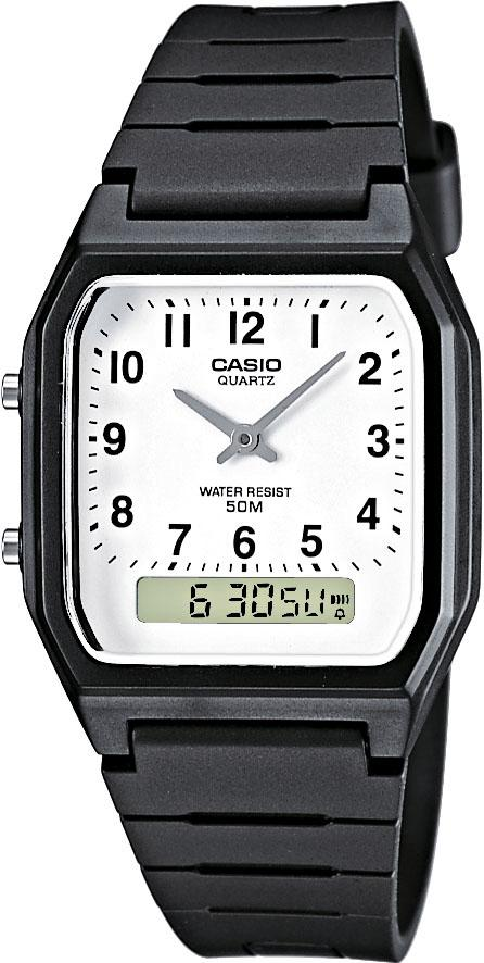 Casio Collection Multifunktionsuhr AW-48H-7BVEF | Uhren > Multifunktionsuhren | Schwarz | Casio Collection