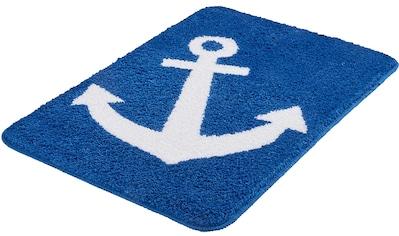 Badematte »Anchor«, Kleine Wolke, Höhe 12 mm, rutschhemmend beschichtet, fußbodenheizungsgeeignet kaufen