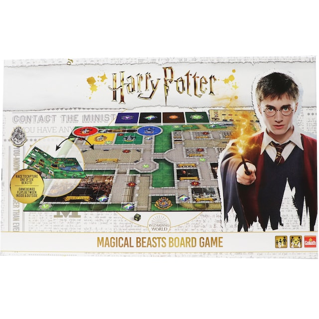 "Goliath® Spiel, ""Harry Potter - Magical Beasts Board Game"""