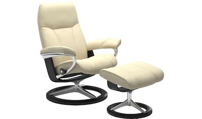 Stressless® Relaxsessel »Consul«, mit Hocker, mit Signature Base, Größe L, Gestell... kaufen