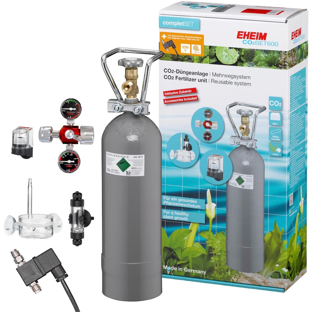 EHEIM Aquariumpflege »CO2-Düngeanlagen-Set 600«, Mehrwegsystem ohne Flasche