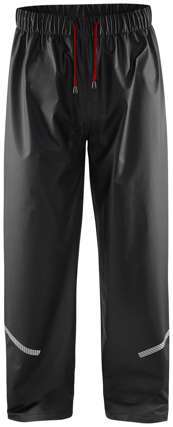 BLÅKLADER Regenhose Level 1 schwarz Herren Regenhosen Arbeitshosen Arbeits- Berufsbekleidung