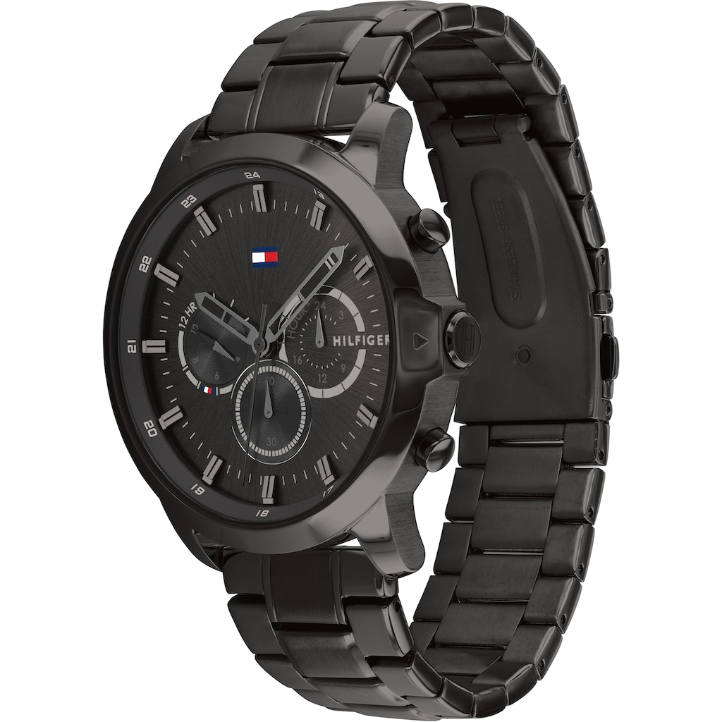 TOMMY HILFIGER Multifunktionsuhr »Casual, 1791795«