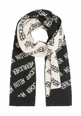 Herrlicher Schal mit Statement-Schriftzug kaufen