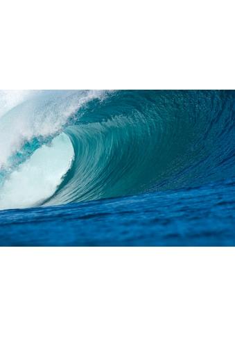 PAPERMOON Fototapete »Big Wave Big Barrel«, BlueBack, 7 Bahnen, 350 x 260 cm kaufen