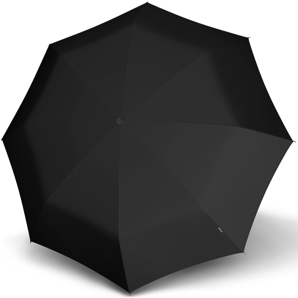 Knirps® Taschenregenschirm »T.400 Extra Large Duomatic, uni black«