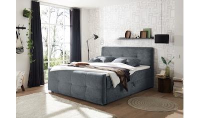 Polsterbett »Winnipeg«, (5 St.), inkl. zwei Bettkästen und Topper kaufen