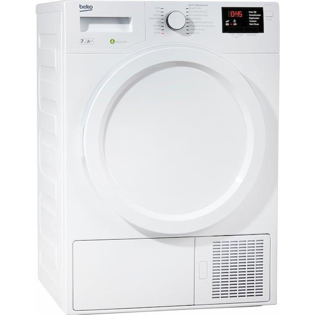 BEKO Wärmepumpentrockner »DPS 7405 W3«, 7 kg