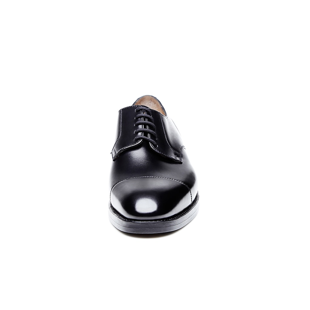 Heinrich Dinkelacker Schnürschuh »Luzern Captoe BC«, Wahre Schuhmacherkunst aus Budapest