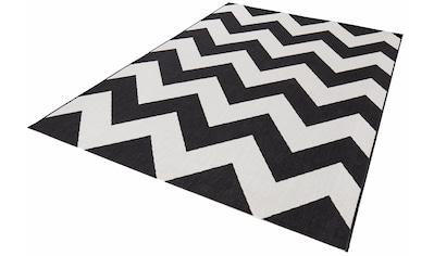 bougari Teppich »Unique«, rechteckig, 8 mm Höhe, Flachgewebe, In- und Outdoor geeignet, Wohnzimmer kaufen