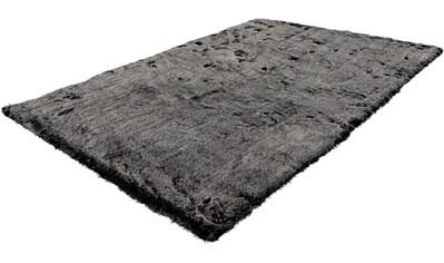 Hochflor - Teppich, »Emica - 1000«, calo - deluxe, rechteckig, Höhe 52 mm, maschinell gewebt kaufen