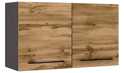 HELD MÖBEL Hängeschrank »Tulsa«, 100 cm breit, 57 cm hoch, 2 Türen, schwarzer... kaufen