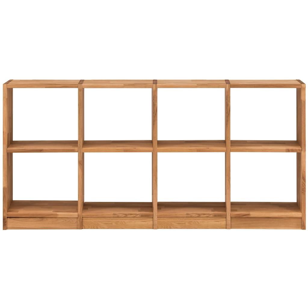 Premium collection by Home affaire Sideboard »Ecko«, aus massivem Wildeichenholz, Breite 181 cm