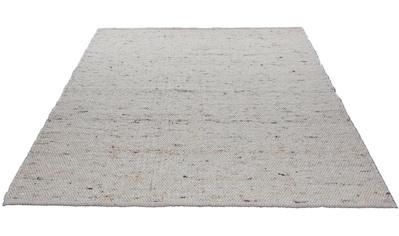Wollteppich, »Alm - Glück«, THEKO, rechteckig, Höhe 12 mm, handgewebt kaufen
