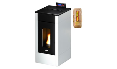 FREEPOINT Pelletofen »Easy airtight«, Stahl, 6,5 kW, Dauerbrand, inkl. 15 kg Firestixx Holzpellets kaufen