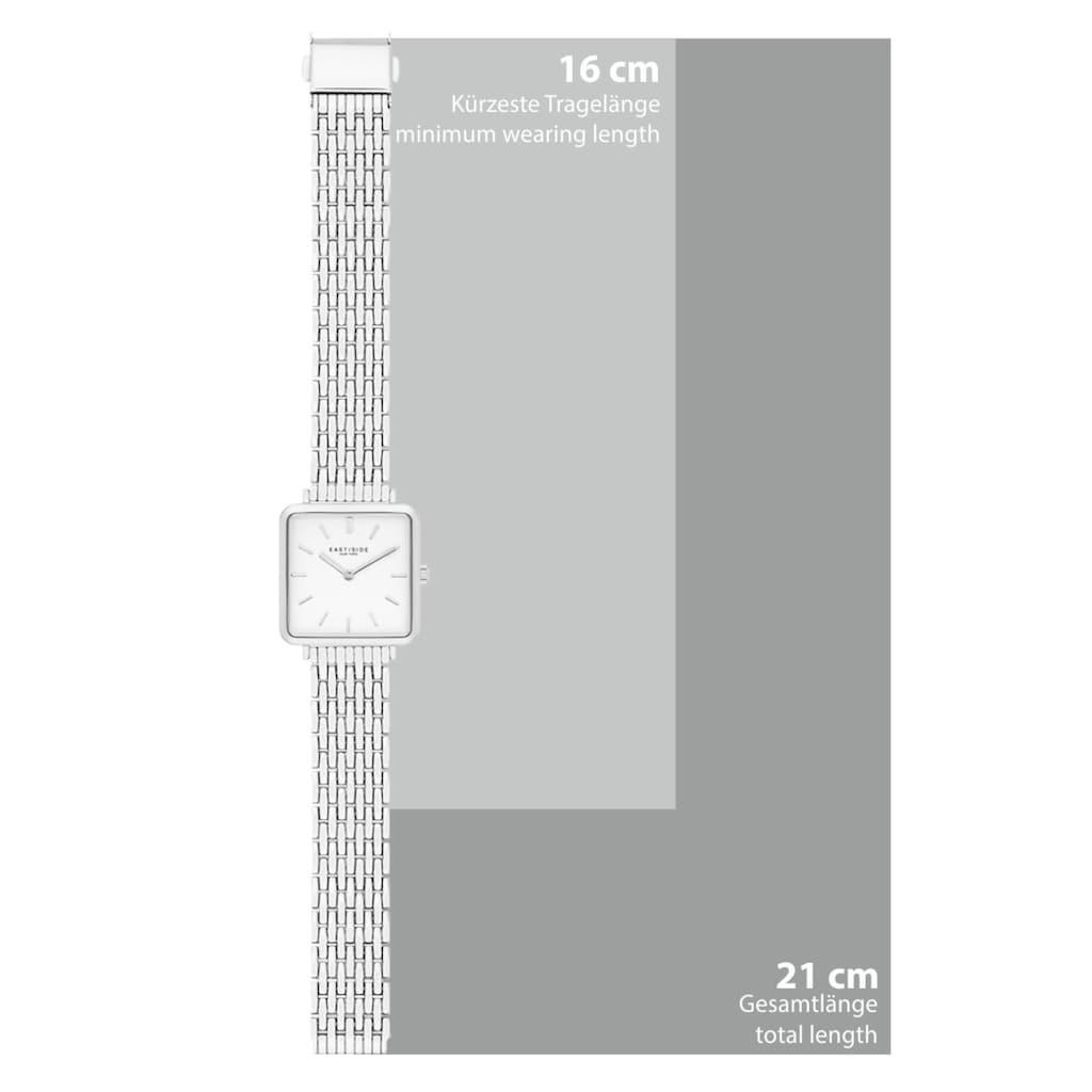 Eastside Quarzuhr »ES206«, (1 tlg.), mit Edelstahl-Armband