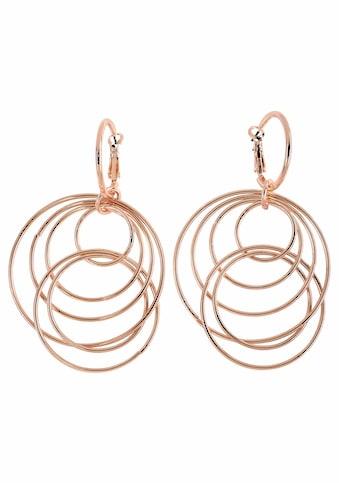 J.Jayz Paar Ohrhänger »mit beweglichen Ringen im modischen Design« kaufen